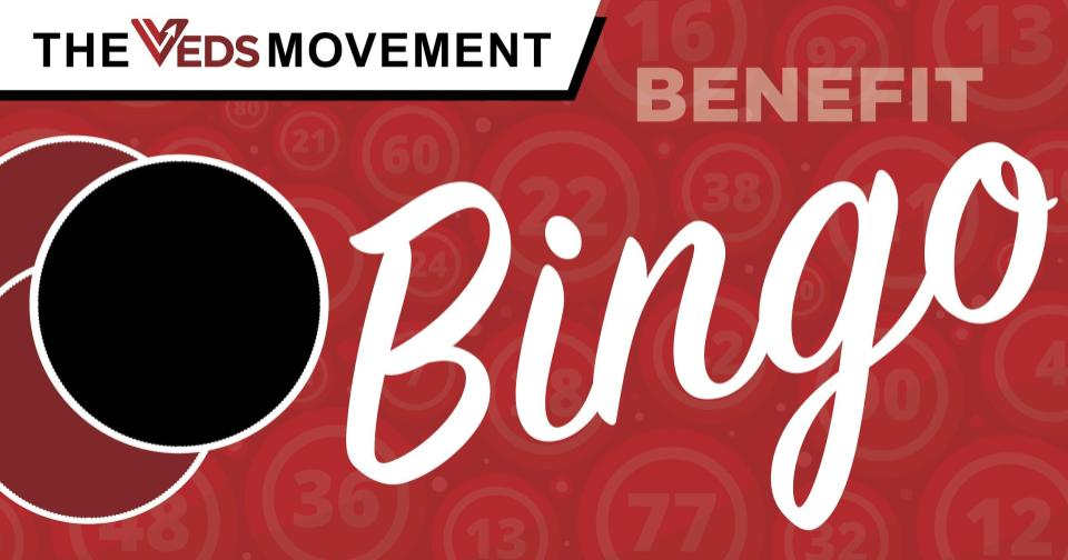 VEDS Movement Virtual Benefit BINGO logo
